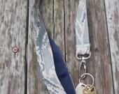Fabric Lanyard, Air Force ABU Fabric Lanyard, Military Lanyard, Armed Forces Lanyard, Air Force Key Holder Lanyard