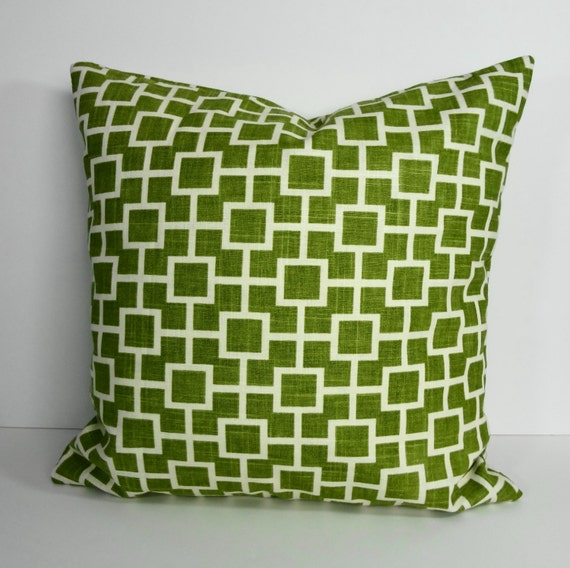 Olive Green Decorative Pillow Cover Throw Pillow Cushion