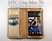 HTC One Max T6 Leather Wa...