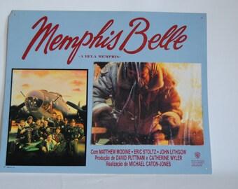 vintage - movie poster - Memphis Belle