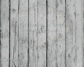 NEW ITEM 2ft x 2ft Vinyl Photography backdrop / Worn Gray Distressed Wood