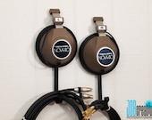 Vintage Headphone Hangers / Wall Hooks - Repurposed Pair of Realistic Nova 40