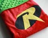 Super Hero Blanket Cape: Robin Super Blankie