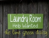 Laundry Room, Help Wanted