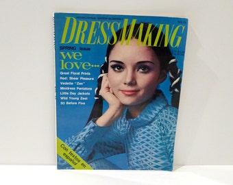 Dressmaking Magazine Vintage 1970s Pattern Making En Espanol English Sewing Drafting Patterns by Yoshiko Sugino Japanese Japan sewing