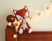 The Crafty Fox, Custom Made Felt Woodland Critter, You Choose COLOR