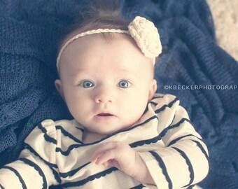 girls headband, baby headband, crochet baby headband, crochet headband, newborn headband