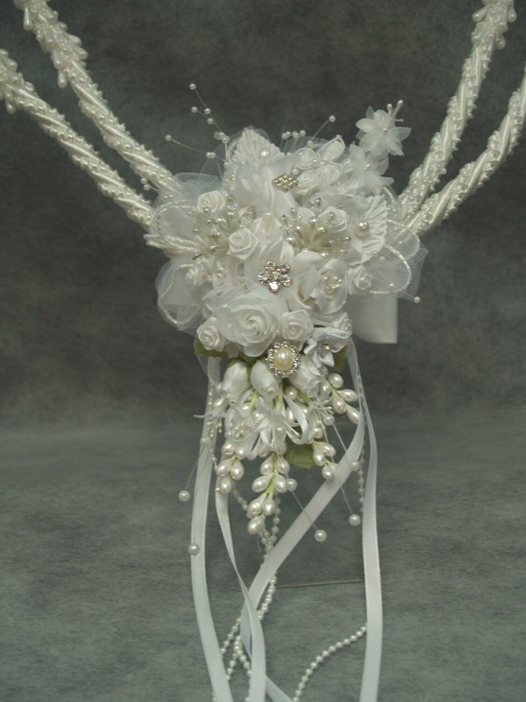 white wedding lasso traditional handmade lasso cord with