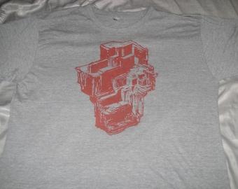 1000 BC Designs Garnet print T-shirt