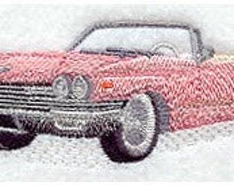 Custom Embroidered Cadillac 1960 Denim Shirt S-4XL