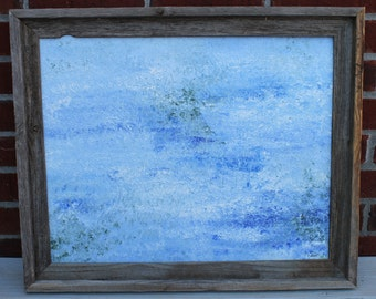 SALE Calm Waters Original Abstract Impressionism Painting