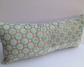 Robert Allen 8X18 Mineral Velvet Pillow Cover