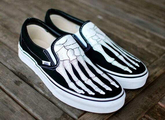 Skeleton Van Shoes