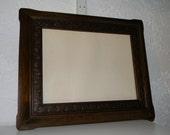 Antique Frame, Wood Frame, Vintage Frame, Carved