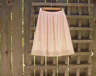Vintage Ballet Pink Slip/ Excellent Condition Vintage Underslip