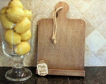 Rustic Kitchen iPad Holder Stand Cookbook Stand Recipe Holder PERSONALIZED