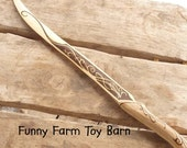 Legolas' Knife Dagger Boys Wooden Toy Replica Lord of the Rings Movie Costume Prop