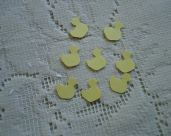 100 Yellow Duckie Punch Die Cut Confetti