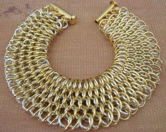 Aura Dragonnscale Chainmaille Bracelet