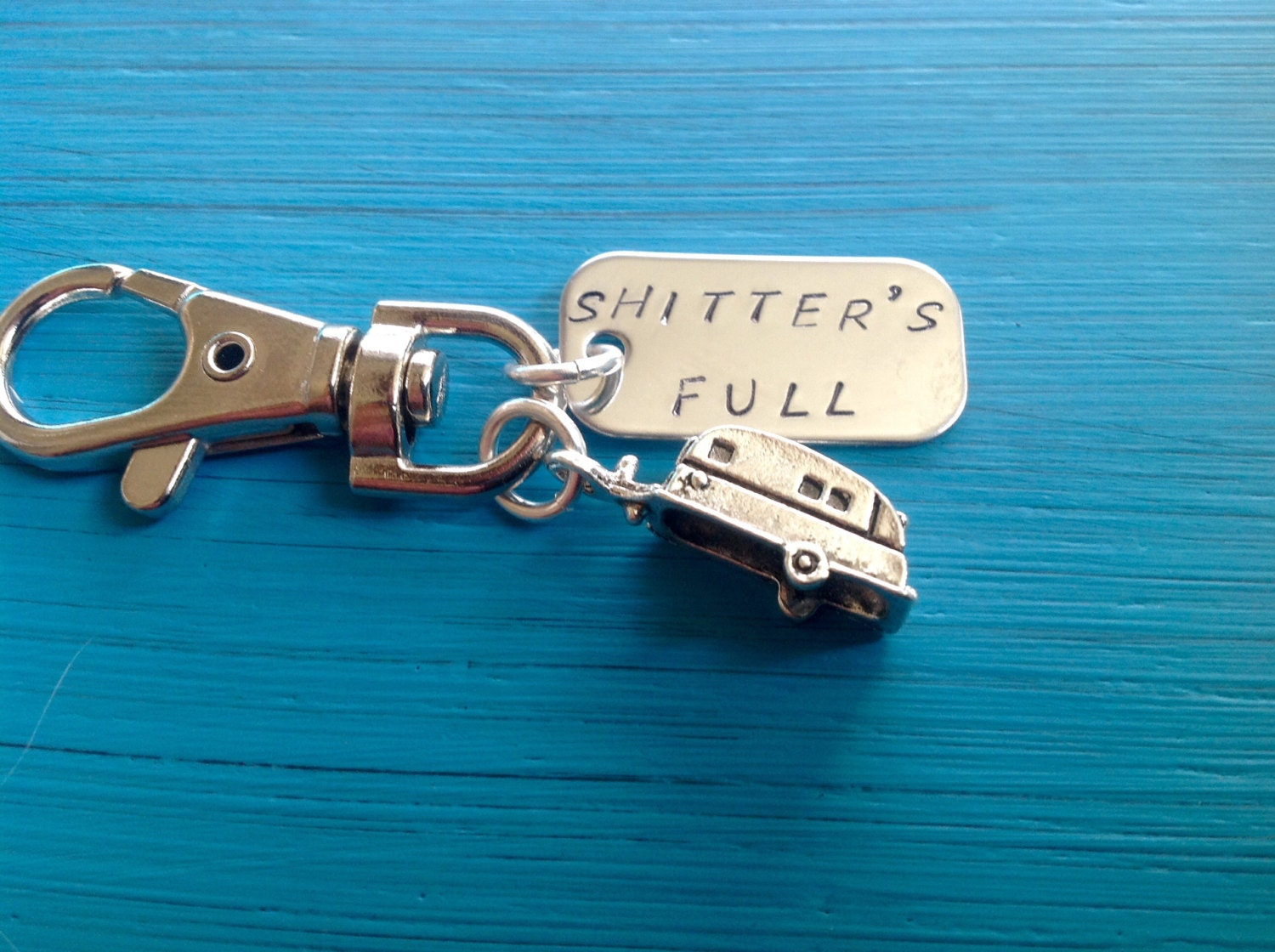 Cousin ornaments - Shitters Full Keychain Rv Camper Keyring Trailer Christmas Vacation Cousin