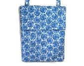 Hanging wet bag blue mums kitchen nursery bathroom cloth diapers unpaper towels flap or zipper