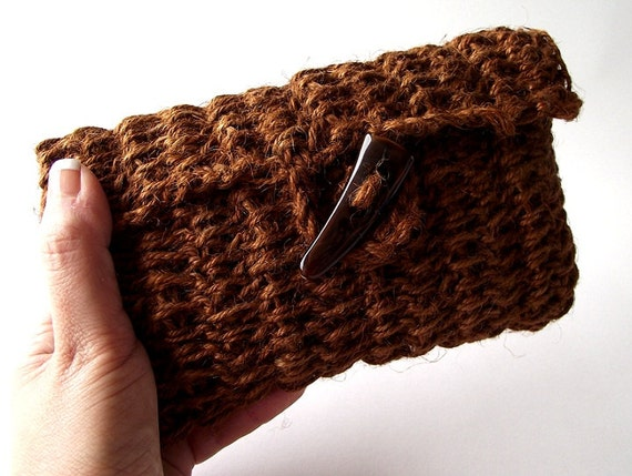 Clutch Bag Crochet : CROCHET PATTERN BAG Simply Sweet Clutch Bag Summer Crochet Pouch Bag ...