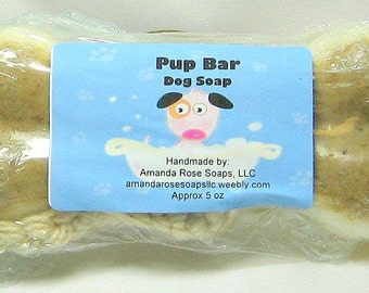 Dog Soap on a Rope, dog soap bar, Essential oil dog shampoo, dog grooming, pet supplies