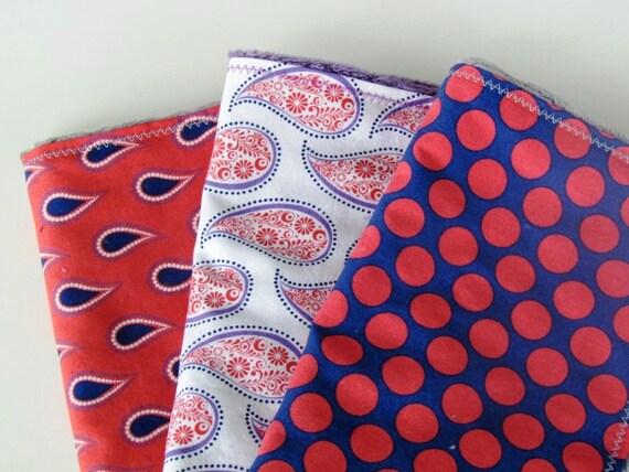 Paisley Please Burp Cloth Set