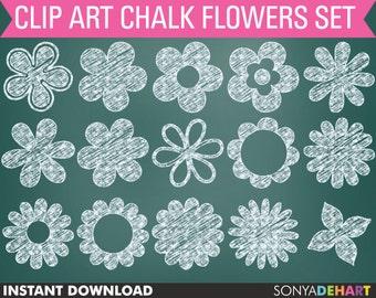 80% OFF Sale Chalk Clipart, Clipart Flowers, Clipart Chalk Flower, Flowers Clip Art, Chalkboard Clipart, Chalk Clip Art, Clip Art Chalk