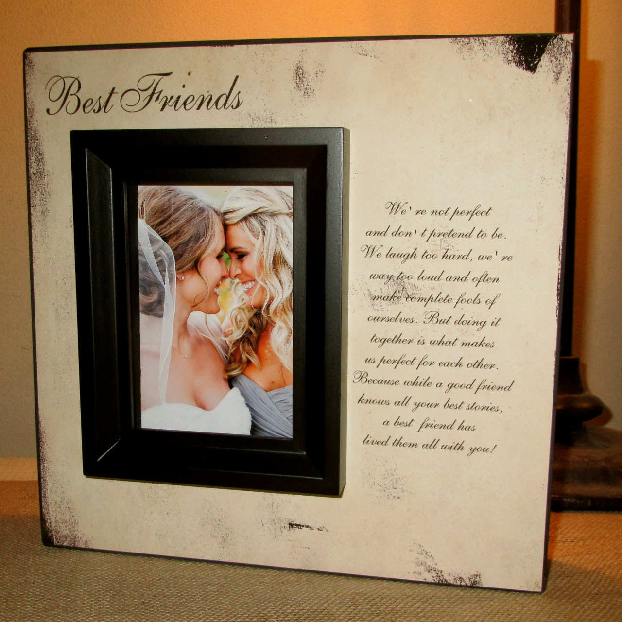 Friendship Quotes Maid Of Honor Speech: Best Friend Best Friends Picture Frame Poem By WordsofWisdomNH