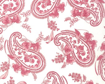 1/2 Yard - Windsor Lane - Porcelain Petal Paisley - By Bunny Hill Designs for Moda