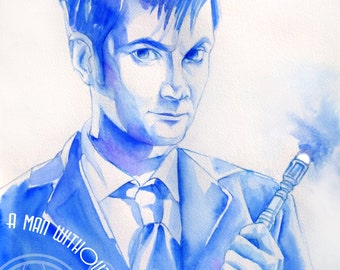 Doctor Who Art Print: The Tenth Doctor