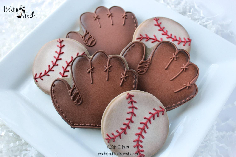 Ladies leather gloves extra small - Vintage Baseball Decorated Cookies Baseball Cookies Baseball Glove Cookies Boys Birthday Cookies Ball Cookies Vintage Cookies