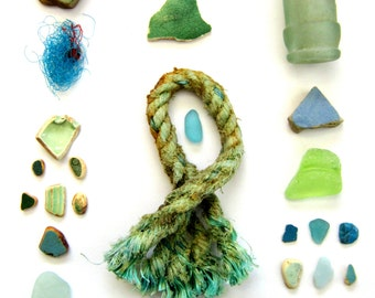 Beach Artifact Composition #7