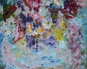 Flowers A La Mode, Passion Flower, Original Oil, Impressionism, Malerei Blumen, Kathleen Leasure, FromGlenToGlen