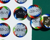 Magical PennyGems: Jumbo Relative  Power/Toughness (8 tokens)