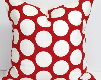 RED PILLOW Covers, Home Décor, Decorative Pillow, Throw Pillow, Pillows, Red Pillow Covers, All Sizes, Disney Pillow, Christmas Pillow, Sham
