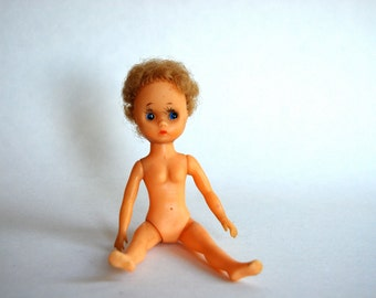 Vintage Posable Doll Made in Japan