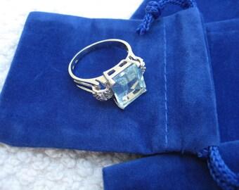 25 Royal Blue Mini velvet bag - package jewelry necklaces earrings