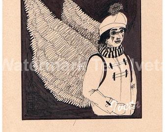 Wings 1,original drawing