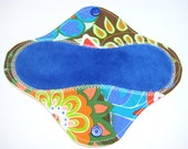 7 1/2 inch Breathable Reusable Cloth Pantyliner / Mama Cloth - Customize Your Liner with Cotton or Flannel and OBV or Minky