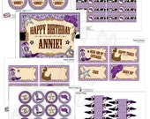 Purple Cowgirl Birthday Party