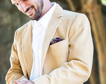 Pocket Square in Woven Cotton