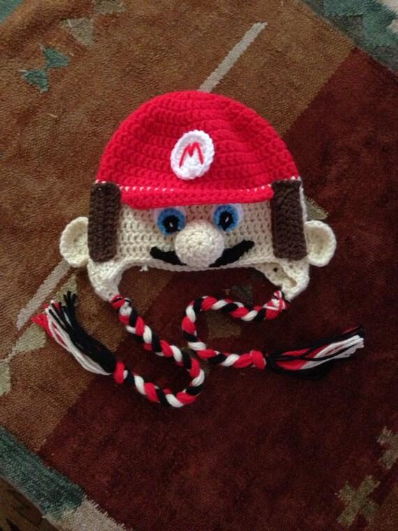 Crochet Pattern Mario Hat : Crochet Mario Hat