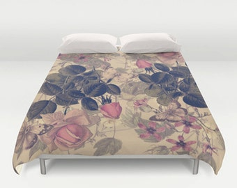 popular items for housse de couette rose on etsy. Black Bedroom Furniture Sets. Home Design Ideas