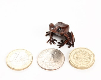 Poison dart frog - Bronze (small)