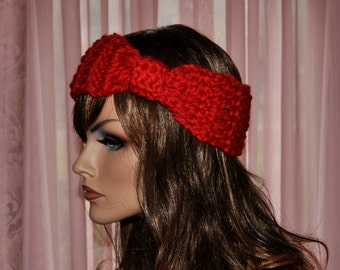 Super Soft, Knot headband, Turban style, Winter Hair Accessories, Hand made by me, Christmas Gift for Her,