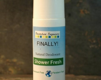 Finally! A Natural Deodorant that actually works - Roll-On Shower Fresh Scent