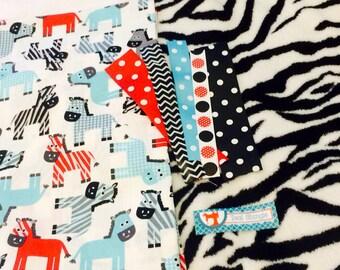 Striped Zebra taggie