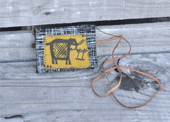 Mini Leather Pouch - Leather Small Camera Bag - Ecofriendly Small Pouch